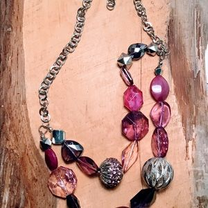 Beautiful assorted layer necklace